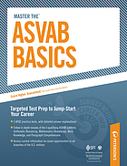 Peterson's master the ASVAB basics