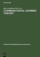 "Combinatorial number theory : proceedings of the ""Integers Conference 2005"" in celebration of the 70th birthday of Ronald Graham, Carrollton, Georgia, USA, October 27-30, 2005"