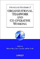 International handbook of organizational teamwork and cooperative working