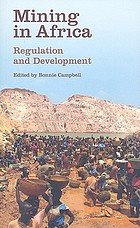 Mining in Africa : regulation and development