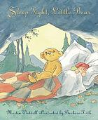 Sleep tight, Little Bear