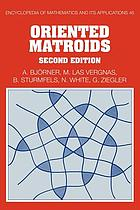 Oriented matroids