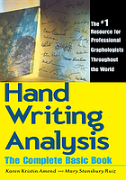 Handwriting analysis : the complete basic book