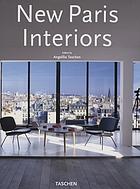 New Paris interiors = nouveaux intérieurs parisiens
