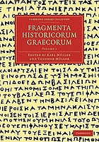 Fragmenta historicorum Graecorum : Apollodori bibliotheca cum fragmentis