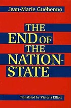 The end of the nation-state