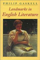 Landmarks in English literature