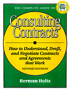 The complete guide to consulting contracts