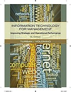 Information technology for management : improving quality and productivity