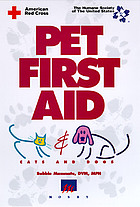 Pet first aid : cats and dogs