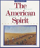 The American spirit : United States history as seen by contemporaries