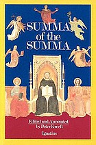 Nature and grace; selections from the Summa theologica of Thomas Aquinas