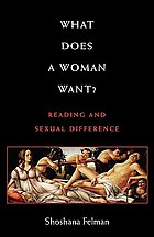 What does a woman want? : reading and sexual difference