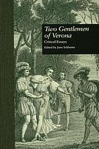 Two gentlemen of Verona : critical essays