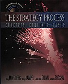 The strategy process : concepts, contexts, and cases