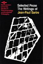The writings of Jean-Paul Sartre