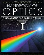 Handbook of optics