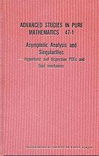 Asymptotic analysis and singularities