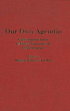 Our own agendas : autobiographical essays by women associated with McGill University
