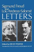 Sigmund Freud and Lou Andreas-Salomé; letters