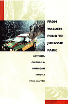 From Walden Pond to Jurassic Park : activism, culture, & American studies
