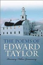 The poems of Edward Taylor : a reference guide