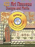 423 art nouveau designs and motifs : CD-Rom and book