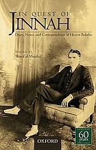 In quest of Jinnah : diary, notes, and correspondence of Hector Bolitho