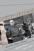 And the risen bread : selected poems, 1957-1997