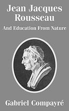 Jean Jacques Rousseau and education from nature