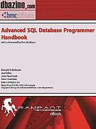 Advanced SQL database programmers handbook