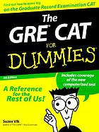 The GRE CAT for dummies