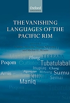 The vanishing languages of the Pacific rim The endangered languages of the Pacific Rim