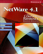 NetWare 4.1 : the complete reference