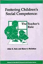 Fostering children's social competence : the teacher's role