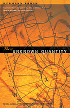 The unknown quantity : a novel