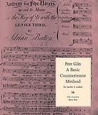 A basic countertenor method : for teacher and student