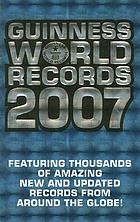 Guinness world records, 2007
