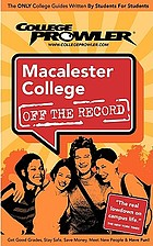 Macalester College : off the record