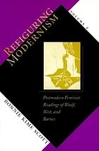 Refiguring modernism