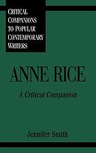 Anne Rice : a critical companion