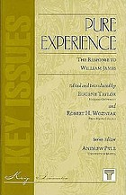 Pure experience : the response to William James