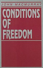 Conditions of freedom