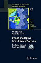 Design of adaptive finite element software the finite element toolbox ALBERTA