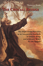 The crucial bridge : the Elijah-Elisha narrative as an interpretive synthesis of Genesis-Kings and a literary model for the Gospels