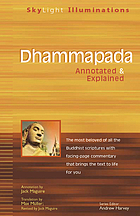 The Dhammapada a collection of verses