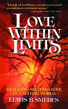 Love within limits : a realist's view of 1 Corinthians 13