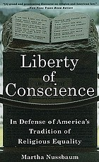 Liberty of conscience : in defense of America's tradition of religious equality