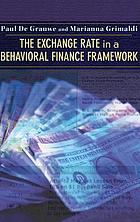 The exchange rate in a behavioral finance framework