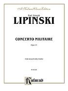 Concerto militaire : for violin and piano : op. 21